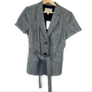 Banana Republic NWT Belted Short Sleeve Blazer